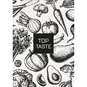 top-tast-voor in de keuken